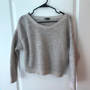 Theory Cropped Sweater